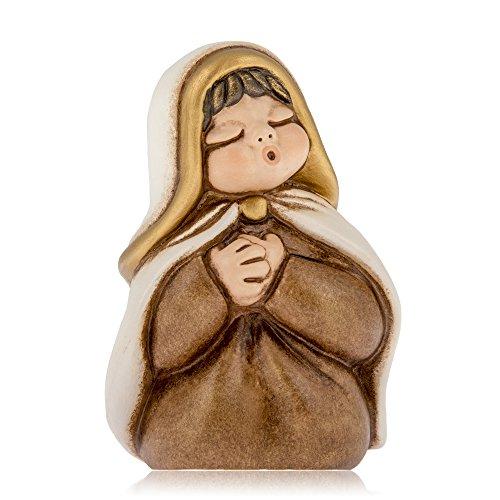 Thun presepe giubileo maria, in ceramica