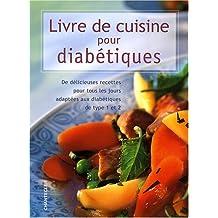 Livre de cuisine pour diabétiques