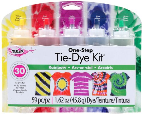 Tulip One-Step Large Tie Dye Kit-Rainbow