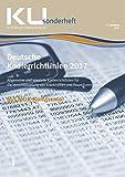 Deutsche Kodierrichtlinien mit MDK-Kommentierung 2017: KU Sonderheft