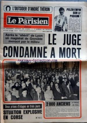 PARISIEN LIBERE (LE) [No 10981] du 10/01/1980 - L'OUTSIDER D'ANDRE