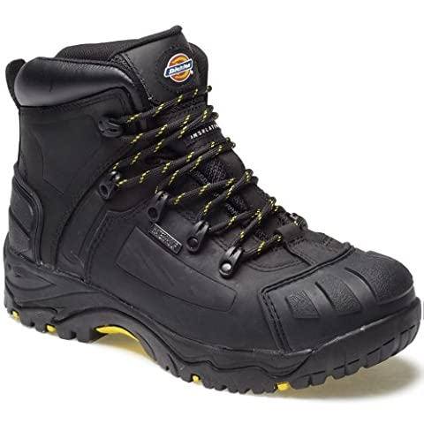 DICKIES WATERPROOF MEDWAY SAFETY BOOTS SIZE UK 6 - 12