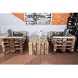 palé Muebles, muebles de jardín de Palets, asiento Grupo