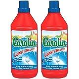 Carolin - Nettoyant Sols - Lavant brillant - 1 L - Lot de 2