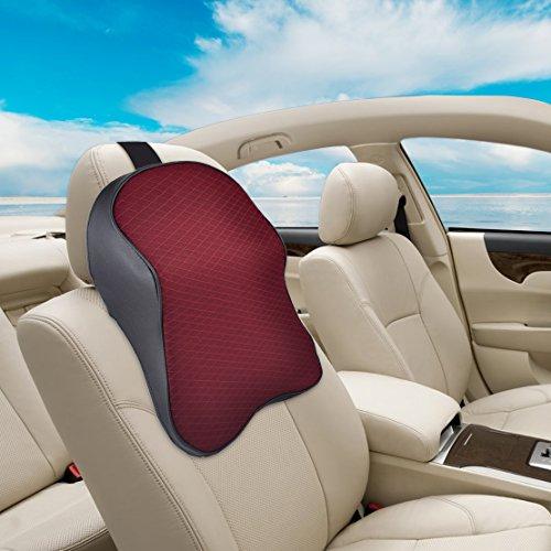 Preisvergleich Produktbild beler Universal Auto Memory Foam Nackenkissen Sitz Kopf Hals Kissen Kopfstütze Reisekissen Rest Stützpolster