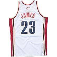 a1522e847 Lebron James Cleveland Cavaliers Mitchell and Ness - Manta para Hombre