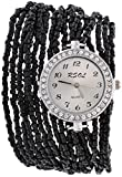 Lucky Infra Analog Watch Women ( Color_Black) With New Design And Stylish Look