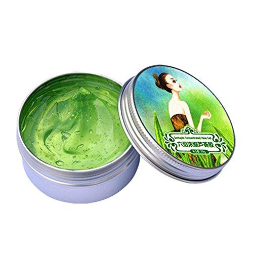oshide Aloe Vera Gel 30g Aloe Gel Beruhigende und nährende Spendet viel Feuchtigkeit Zieht schnell ein Keine Rückstände