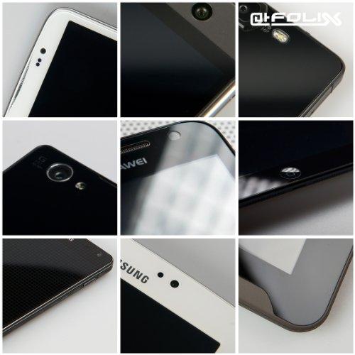 Casio DT-970 Spiegelfolie - atFoliX FX-Mirror Displayschutz mit Spiegeleffekt 12) FX-Antireflex — 2er Set