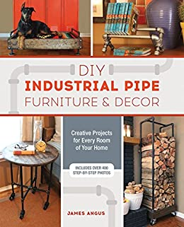 Diy Industrial Pipe Furniture And Decor Creative Projects