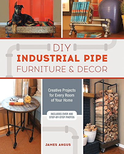 DIY Industrial Pipe Furniture and Decor: Creative Projects for Every Room of Your Home (English Edition)