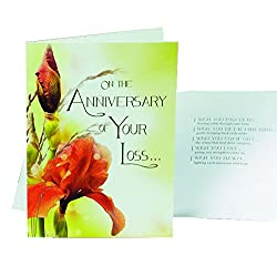 Abbey Press 5 x 7 Anniversary of Your Loss Care Card (20538)