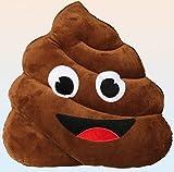 Out of the Blue kg–Emotion Faces Kissen 50cm Poo