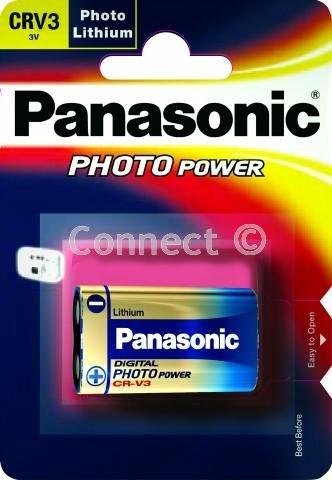 Panasonic Photo Battery Lithium CR-V3, CR-V3L_1BP Crv3 3v Lithium Batterie