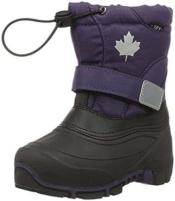 Canadians 467 185, Stivali Bassi da Neve Bambini, Viola (880 Lilac), 24 EU
