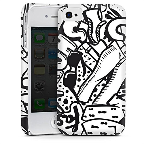 Apple iPhone 5s Housse Étui Protection Coque Vêtement Fashion Mode Cas Premium mat