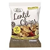 Eat Real Chili & Zitronen Linsen Chips - 40g x 12