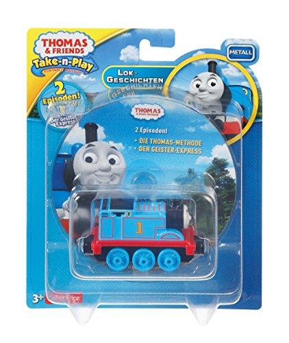 Mattel Fisher-Price dtl38Thomas y Sus Amigos Thomas Lok y DVD Special La Gran Carrera, Juguete Figura