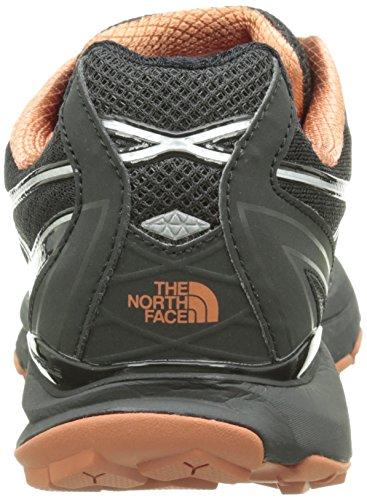 The North Face Herren M Ultra Cardiac Laufschuhe Multicolore (Tnf Black/Arabian Spice)