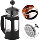 Pinkdose® New French Press 350Ml Heat Resistant Glass Coffee Press Tea Filter Plunger Coffee Maker Pot Home Coffee Accessories