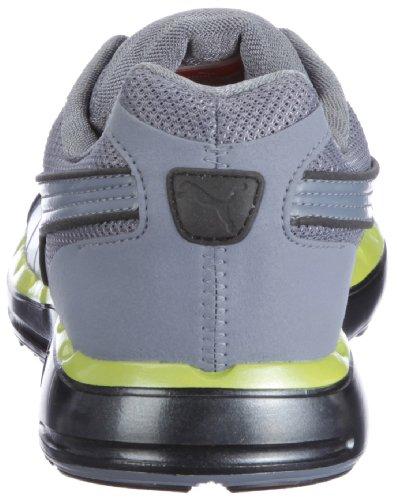 Puma Faas 500, chaussures de sport - course à pied homme Noir - Schwarz (black-flint stone-lime punch 21)