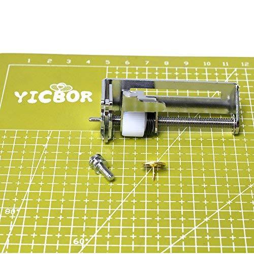 YICBOR - Fijación de punto circular (bajo vástago) para Singer #052069