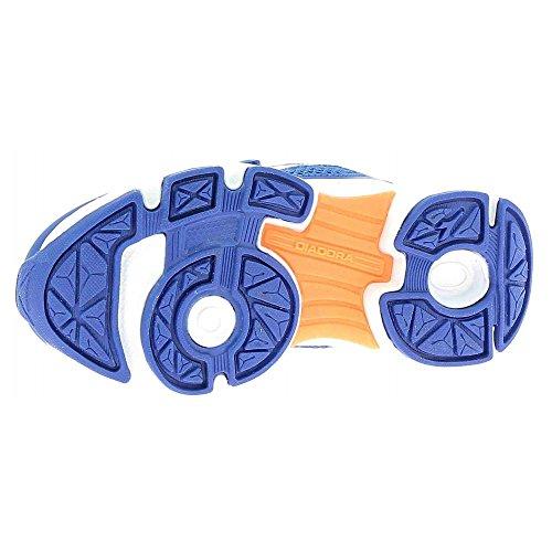 Diadora 101.171269, Scarpe con Velcro Bambini Blu