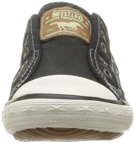 Mustang Unisex-Kinder Sneaker Schwarz (9 schwarz)