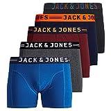 JACK & JONES Herren 5er Pack Boxershorts Mix Unterwäsche Mehrpack,5er Pack #1 Ohne Wäschesack,L
