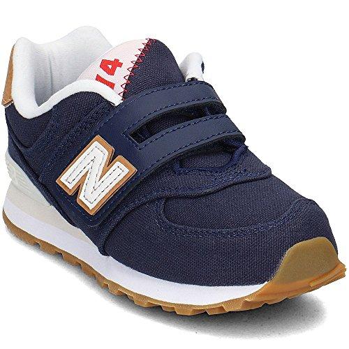 New Balance YV574T1 Niedrige Sneakers Boy Blau 32½ (New Balance Herren Frühling)