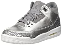 AIR JORDAN 3 RETRO WOMENS HC 'CHROME' - AA1243-020 - SIZE 40-EU