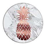 Avizy Marble Pineapple Pop Out Phone Grip Holder Socket Collapsible Grip & Stand for Phones and Tablets