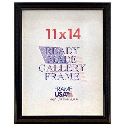 Frame USA Deluxe Poster Frame Frames, 11 x 14, Black by Frame USA -