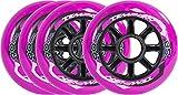 Unbekannt Tempish Radical Color 90x24 85A Purple Ersatzräder, 90 mm