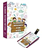 #2: Music Card: Nursery Rhymes for Kids - USB (320 Kbps Mp3 Audio) (4GB)