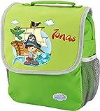 Kindergartenrucksack Happy Knirps Kinderrucksack mit Namen und Wunschmotiv (grün)