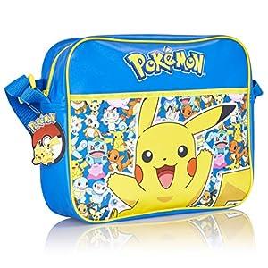 Pokémon Pikachu Messenger Tasche für Schule oder Reise Mit Im Dunkeln Leuchten Pikachu | Zurück Zu Schule Crossbody…