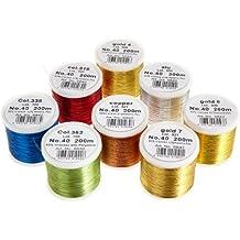 Madeira 8012 Classic - Caja de hilos de costura (8 bobinas de 200 m)