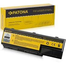 PATONA Batería para Laptop / Notebook Acer Aspire 5310 | 5520 | 5710Z | 5720 | 5920 | 5920G | 6920 | 6920G | 7520 | 7720G | 8920 | 8920G | 8930 | 8930G y mucho más... - [ Li-ion; 4400mAh; negro ]
