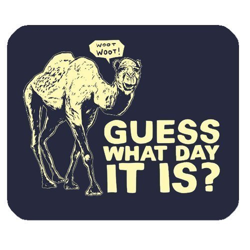 guess-what-day-it-is-camel-hump-day-graffiti-design-personalized-rectangle-mouse-pad
