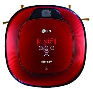 Lg - vr7426rr - Aspirateur robot programmable + télécommande HOM-BOT SQUARE