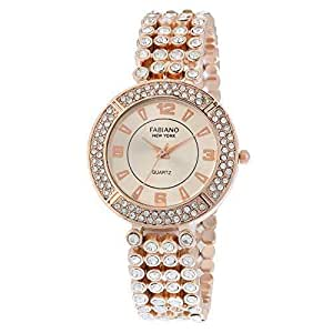Fabiano New York Rose Gold Analog Wrist Watch for Girls & Womens (FNY104)