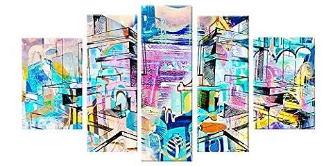 Maman Fils Halloween - Startonight Impression Sur Verre Acrylique Coloré Abstrait