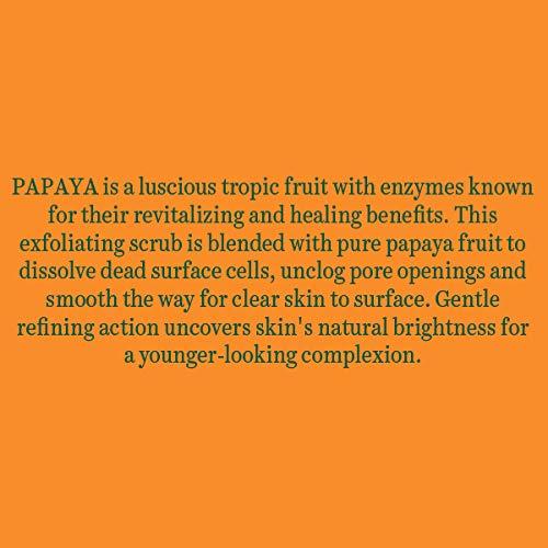 Biotique Papaya Revitalizing Tan Removal Scrub, Transparent, 100 g