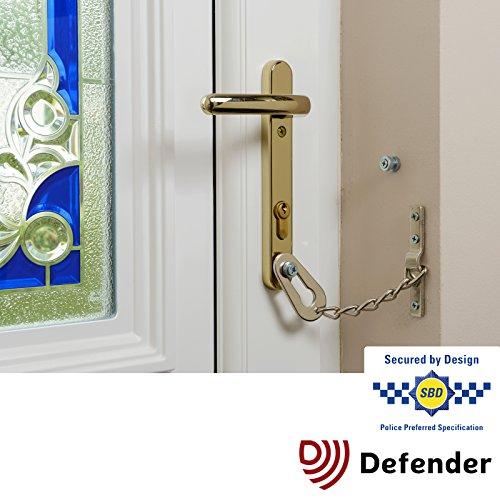 Defender Door Chain for PVCu Doors - Police Approved