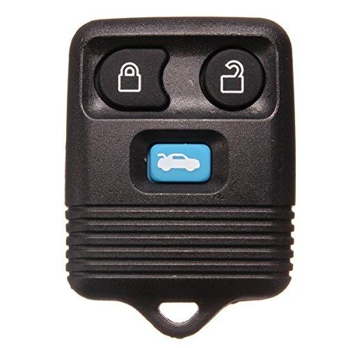 YONGYAO Drei Tasten Remote Schlüssel Case Shell Für Ford Mazda Ersatz Schwarz