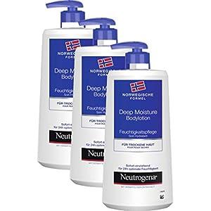 Neutrogena Loción Hidratante Corporal – 3 Unidades x 400 ml.