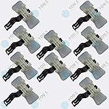 YOU.S 1249889478 Seitenleisten Clips Metall Klammern für Beplankung (10 Stück)
