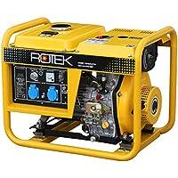 Rotek Diesel Stromerzeuger GD4-1A-3300-EBZ (3,6 kVA / 3,3kW 230V 50Hz 1-phasig)