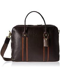 545df777b7 Hidesign Leather 21 cms Brown Messenager Bag (Corvette 01-Regular Roma-Brown  Tan